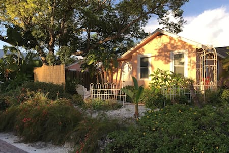 Adorable Coral Cottage in downtown Dunedin - Dunedin