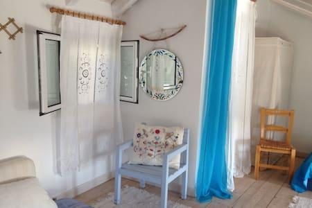Aimili's maisonette-EXANTHIA-tallest part- - Lefkada - House