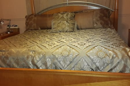 Private room/ King bed- Nice/safe area - Boca Raton - Ház