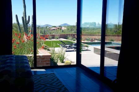 "Pool Side Casita with a view of ""A"" mountain - Tucson - Pensione"