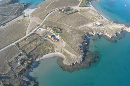 Fanaraki Limnos Twin Studio on Private Beach - Lemnos - Apartament