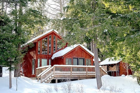 Lakefront Cabin with Sauna, Snowshoes, GREAT View! - Wells - Cabin