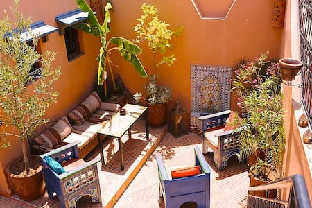 Bed and breakfast 5 min from Djemaa  El Fna! - Marrakesh - House