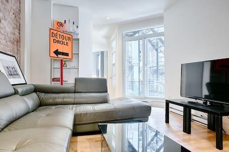 5BR in Unbeatable Plateau Location - Montréal - Apartment
