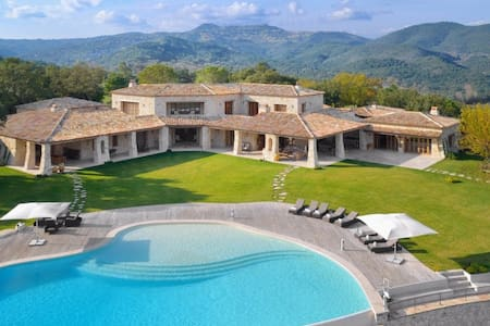 5bd hilltop villa near Cannes - Mandelieu-La Napoule