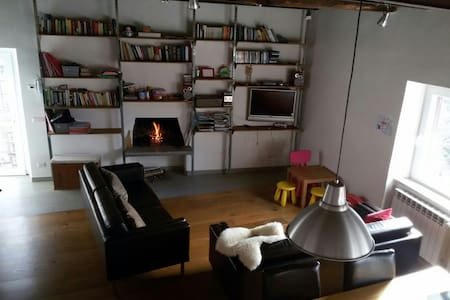 Peaceful green corner in old town, family friendly - Nepi - Apartment