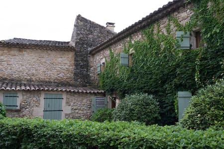 maison caractère en Gard provençal - Rumah