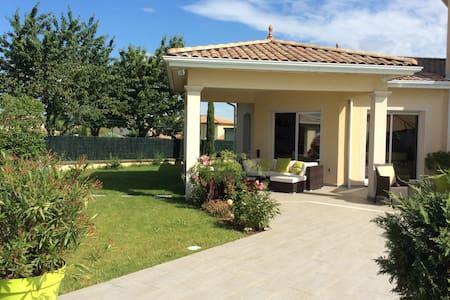 villa 3 ch bureau piscine - Saint-Bonnet-de-Mure