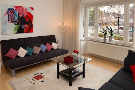 Spacious, apartment with balcony