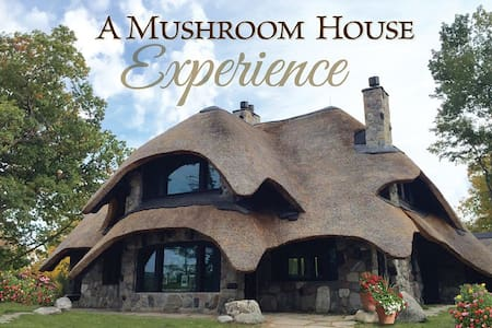 The Thatch House- Sleeps 12 - Charlevoix - Villa