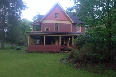 pure victorian nestled in Catskills - Hus