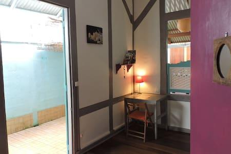 Chambre dans maison typique créole - Casa