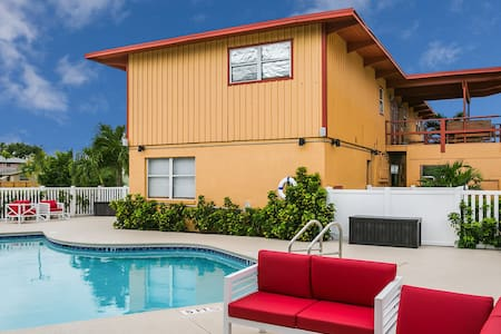 Hutchinson Island Beachhouse Pool Walk Everywhere - Fort Pierce - Pis