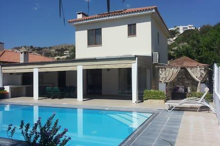 Apollonas Villa + Pool+ Car - Pissouri Beach - Villa