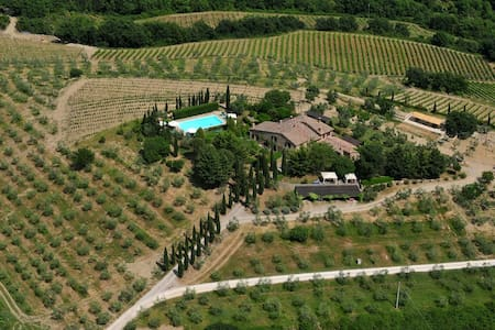 Apartment LAURO with private garden - Castellina in Chianti - Apartment