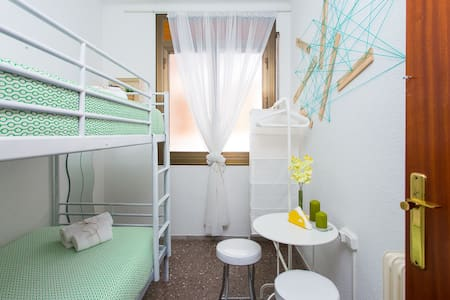 Nice & cozy bright single room - Barcelona - Wohnung