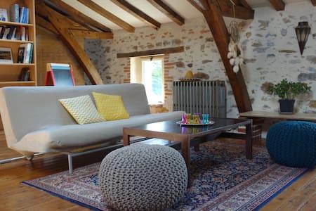 Petite maison rurale, chaleureuse - Aubigny - Hus