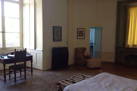 Ampia stanza da letto in castello - Frasne-le-Château