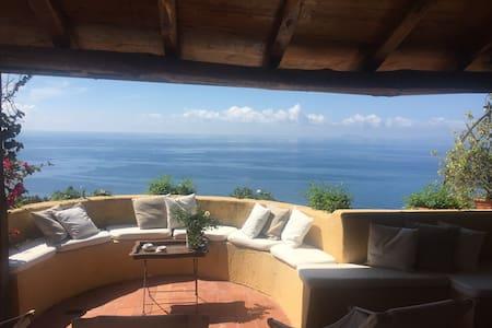 Villa con vista Isole Pontine - San Felice Circeo