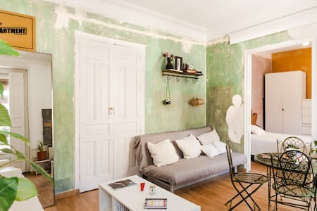 LA LATINA/SOL **Great Vintage Apartment 2BD-1BTH** - Madrid