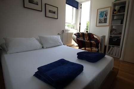 Bright double bedroom in nice flat Central London - London - Apartment