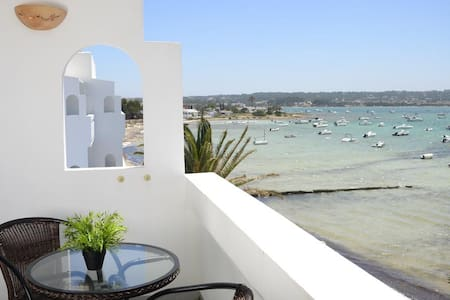 (AF1) Apartment with sea views in Formentera - La Savina