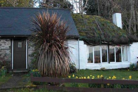 Thatch cottage, Craig Highland Farm - House