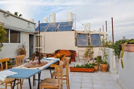 Boho Private Roof in Historic Jaffa - Tel Aviv-Yafo