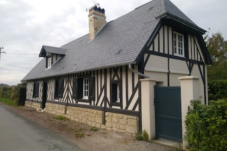 """Normandy style"" house 140m2 with heated pool - Basseneville - House"