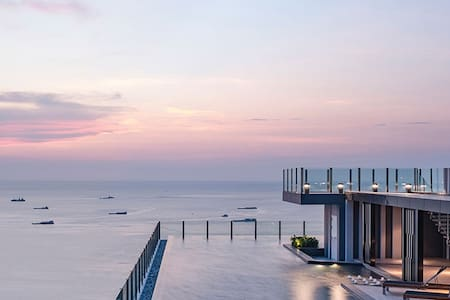 New condo 300 meters from Pattaya beach - Lakás
