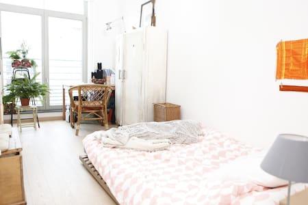 Chambre lumineuse au quartier WIELS - Forest - Appartement