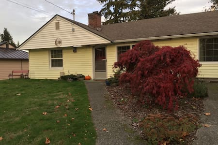 Small ranch house near Seattle - Mountlake Terrace
