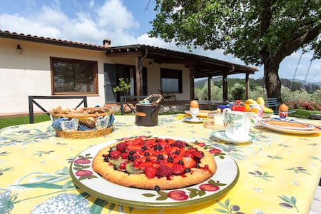 Relax in Sabina - the home on hill close to Rome - Poggio Nativo - Inap sarapan