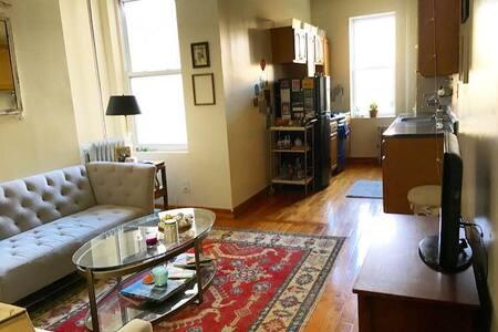 Spacious 1-bedroom in Crown Heights