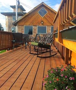 Raven House Alaska B & B And Vacation Rentals - Anchor Point - Szoba reggelivel