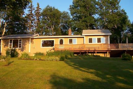 Cottage on Bra D'or Lakes,  Cape Breton Island - Cape Breton - Kabin