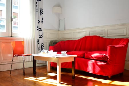 Private Room+ Bathroom+WiFi+ Excellent location!! - Buenos Aires - Apartamento