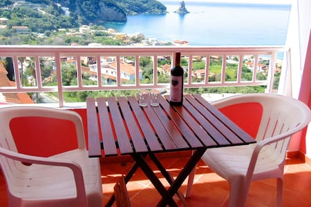 SeaView Room,Breakfast&FREE Pickup. - Agios Gordios