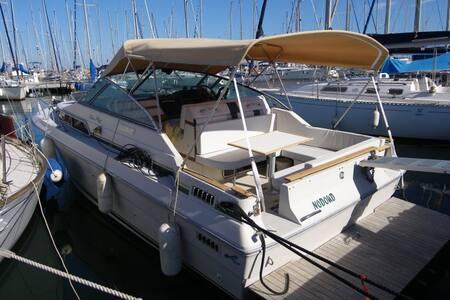 Bateau habitable à quai 4 pers île de Porquerolles - Boat