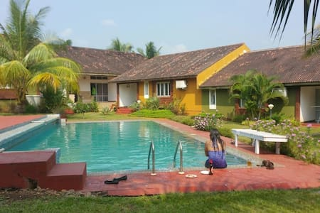 Villa in Ginger Tree Resort, Anjuna - Villa