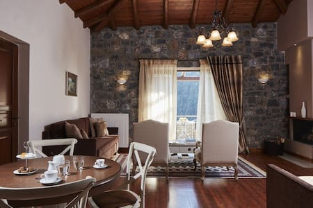 Mountain Villa with Panoramic View - Villa
