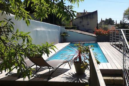 Beau studio proche Pont du Gard - Saint-Bonnet-du-Gard
