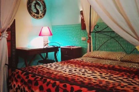 Camera Luna matrimoniale e bagno - Sulmona - Bed & Breakfast