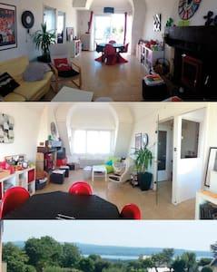 AppartT5/ jardin aux portes des fêtes Brest 2016 - Apartment