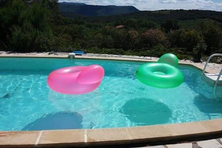 Studio avec piscine classé 3 *** - Hus