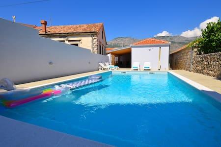 Apartment Glavic with private pool - KONAVLE - Gruda - Apartment