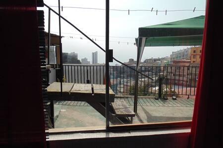 Céntrica Habit-Dsayuno-Vista al mar - Valparaíso - House