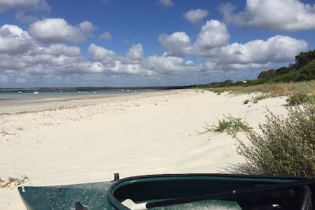 Absolute beachfront Island Beach KI - Island Beach - Casa