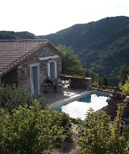 Chambre avec piscine Le Céréïbé - Guesthouse