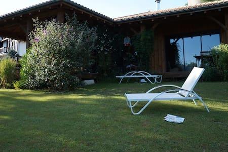 Villa ossature bois au calme - Castets - House